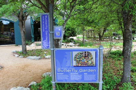 Butterfly Garden at the Lady Bird Johnson Wildflower Center in Austin, Texas